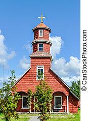 Wooden Church, Chiloe Island, Chile
