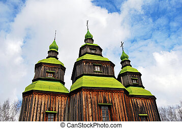 wooden church dome