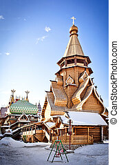 Wooden Church in Moscow, Izmailovo