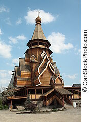 Wooden Church in Moscow