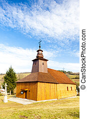 wooden church, Krive, Slovakia