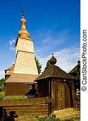 wooden church, Ladomirova, Slovakia