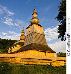 wooden church, Mirola, Slovakia