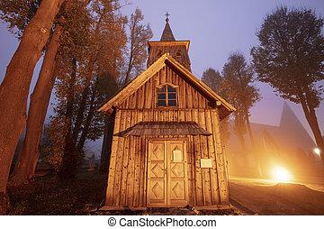 Wooden church of St. Catherine in Sromowce Nizne