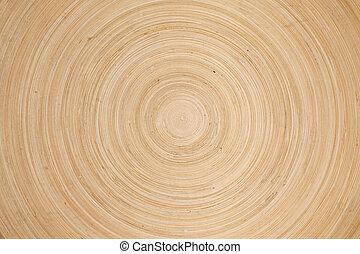 Wooden circles texture