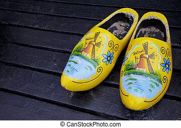 Netherlands - Wooden clogs shoes, Netherlands, Europe