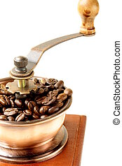 wooden coffee grinder