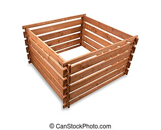 Wooden compost
