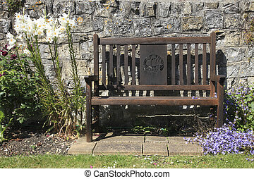 Wooden Country Garden Seat