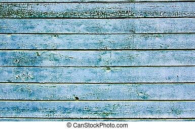wooden creaked wall