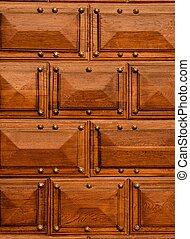 Wooden details background