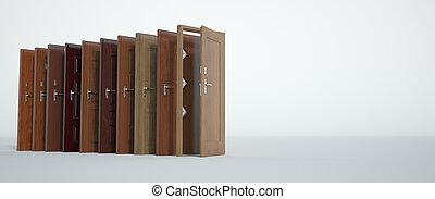 Wooden Door choice