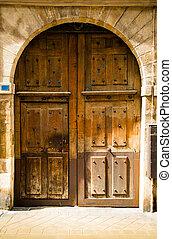 wooden door grunge textures and backgrounds