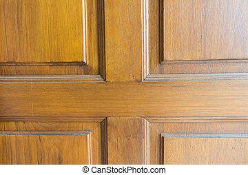 wooden door texture background