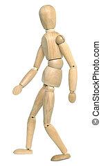 Wooden Dummy Walking