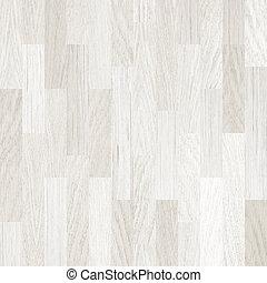wooden emelet, fehér, parketta, háttér