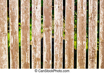 Wooden fence as background