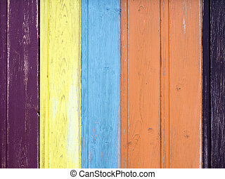 Wooden fence background with number