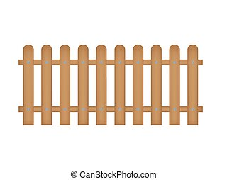 Wooden Fence Stock Illustrations 15 342 Wooden Fence Clip Art