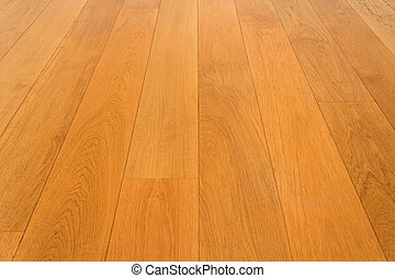 wooden floor, oak parquet - wood flooring