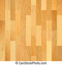 Wooden floor. Parquet flooring background.