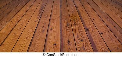 wooden plank floor