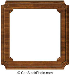 Wooden Frame (Path Included)
