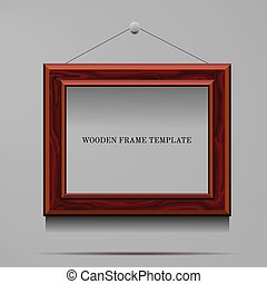 wooden frame template