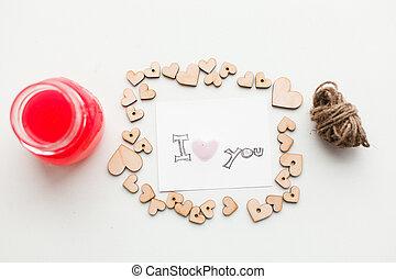 wooden hearts, jam