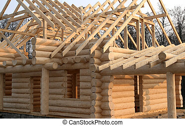 Wooden home construction