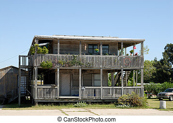 Wooden house in the southern USA