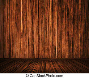 Wooden Interior Background