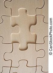 Wooden jigsaw 2