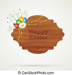 wooden keret, húsvét
