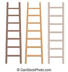 Ladder Rungs Vector Clip Art Illustrations 104