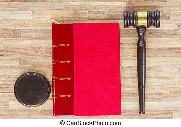 Wooden Law Gavel