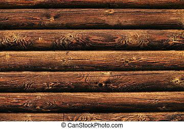 wooden log background