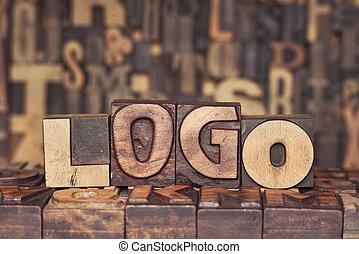 wooden LOGO concept