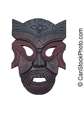 Wooden mask#1
