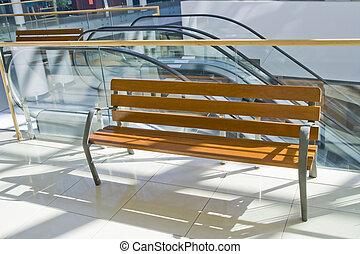 Wooden modern  bench