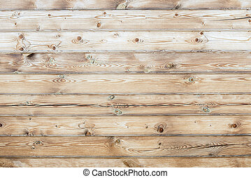 Wooden natural light background of smooth boards