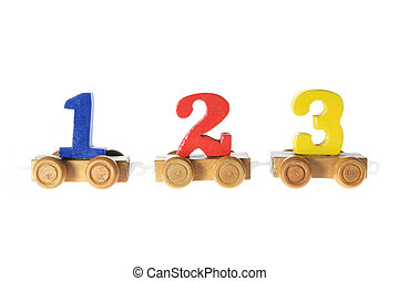 Wooden Numbers Toys