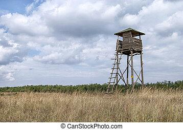 Wooden observation tower 2