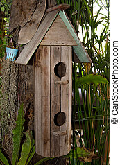 Wooden of birdhouse