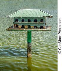 Wooden of birdhouse