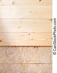 wooden padló