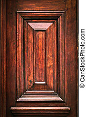 Wooden panel as a textured background image
