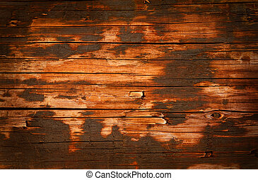 Wooden paneling, old wood grunge background
