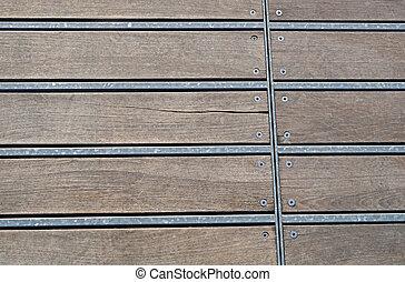 wooden parquet floor herringbone pattern