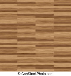 Wooden parquet floor texture - Illustrated wood parquet...
